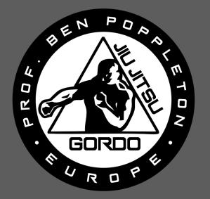 Gordo Jiu Jitsu Europe Patch